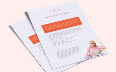 Conclusion Checklist