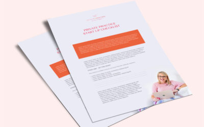 Private Practice Start-up Checklist