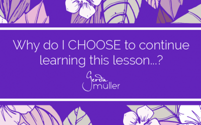 Why do I choose to continue learning this lesson?